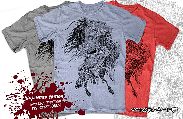 Limited Edition LIVING DEAD t-shirt