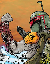 Boba Fett vs Dark Luke